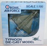 PGS Models 1:100 Scale 40607 - Royal Air Force Typhoon Die Cast Model