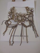 Banana Republic New Orleans Focal Crystal Statement Necklace NWT $135