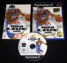 NBA LIVE 2005 Ps2 Versione Ufficiale Italiana 1ª Edizione ••••• COMPLETO