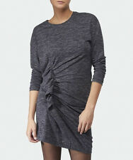 Isabel Marant Étoile Madelia Knit Dress in Anthracite Gray Size FR 42