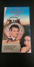 Groundhog Day (VHS, 1993) Bill Murray