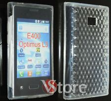 Cover for LG L3 OPTIMUS E400 Gel Clear + Film Save Screen