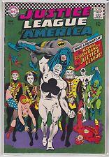 Justice League of America #54 DC Comics 1967 Batman, Flash, Wonder Woman +