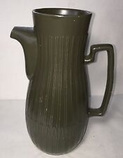 """New listing Vintage Red Wing Green Pitcher Pot-9.5"""" U.S.A."""