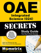 OAE Integrated Science (024) Secrets Study Guide