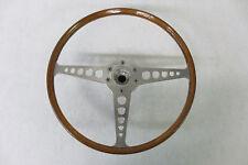 ORIGINAL 1961 - 1970 Jaguar E type XKE Steering Wheel REAL WOOD And Hub