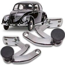 POP OUT LATCH PAIR QUARTER WINDOW BLACK VOLKSWAGEN TYPE1 BUG BEETLE VW T1 LOCK