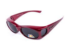 Figuretta Gafas de sol Gafas escudo Rojo Publicidad en TV Schutz UV Gafas