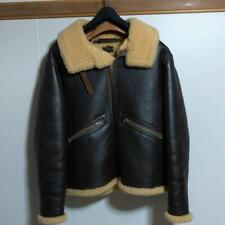 EASTMAN D-1 Leather Jacket Size S Used from Japan