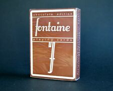 Fontaine Chocolate Limited Edition Playing Cards