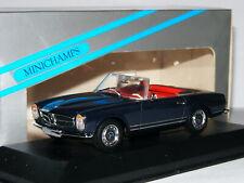 MERCEDES-BENZ 230sl pagode ROADSTER VERDE w113 1963-1971 1//18 NOREV modello auto...