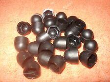 "New 7/16"" Press On Plastic Hex Nut Caps - 25 Pieces"