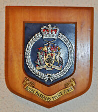 Royal Barbados Police Force plaque shield crest badge Constabulary