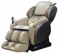 Cream Osaki OS-4000CS Zero Gravity Massage Chair Recliner + Warranty + Heat