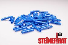 LEGO® 50x 6558 ***NEU*** Technic Pin / Verbinder / Pins / lang / blau / 4514553