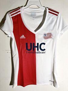 Adidas Women's MLS Jersey New England Revolution Team White sz XL
