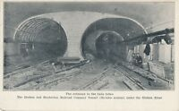 NEW YORK CITY – Hudson and Manhattan Railroad Tunnel Entrance (McAdoo)