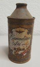 CANADIAN ACE Ale Cone Top Beer Can Canadian Ace Brewing Chicago, IL