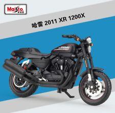1:18 Maisto Harley Davidson 2011 XR1200X Bike Motorcycle Model Black