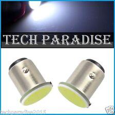 1x Ampoule LED COB 12 Chips Bulb Blanc White feux P21W / BAY15D / 1157 / R5W