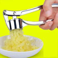 Hot Edelstahl Knoblauchpresse Crusher Squeezer Stampfer Küche Mincer!
