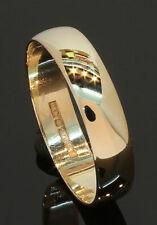 9 Carat Yellow Gold Plain Wedding Ring 4.7mm Size T (80.20.097)