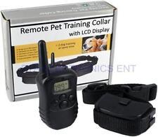 Dog Pet Stop Barking 300M Remote LCD Display Training Collars 100 Levels Shock