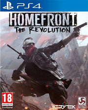 Homefront the Revolution Ps4 Playstation 4 It Import Deep silver