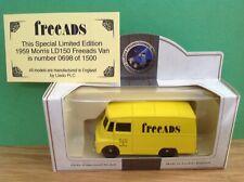NEW-FREEADS VAN-LLEDO SPECIAL LT/EDT 1959 MORRIS LD150 -VANGUARDS-DIECAST MODEL
