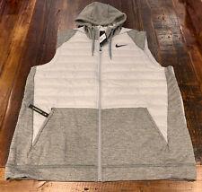 Nike Men's Therma Vest Full-Zip Training Synthetic Fill SZ 3XL Tall BV4534-063