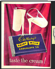 Original Vintage 1950s Dairy Milk Chocolate Advert Picture Post 13 June 1953