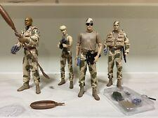 Stargate SG-1 Figures - Desert Ops- Jack, Teal'c, Sam, Daniel