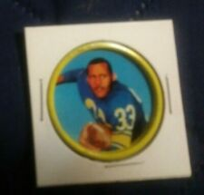 1962 Salada Football Coin Ollie Matson #45 in excellent- near mint (see scan)
