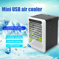 Portable Mini Air Fan Conditioner Cooling Water Air Cooler Humidifier Usb Home N