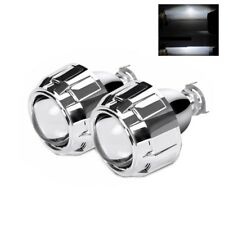 2.5''H1 HID Bi xenon Projector Lens for H1 H4 H7 Bulb with Chrome Shrouds