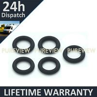 FOR VOLVO 2.5 DIESEL INJECTOR LEAK OFF ORING SEAL SET OF 5 VITON RUBBER UPGRADE