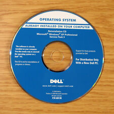 Genuine Dell Reinstallation CD Windows XP Pro SP3 U317K / 0R662K