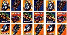 3 Sheets Race Car NASCAR Racing Scrapbook Stickers