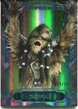 Star Wars Masterwork 2016 Alien ID Guide Rainbow Chase Card AI-2