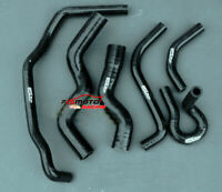 BLACK Silicone Radiator Hose For Holden Rodeo TF 2.8L Turbo Diesel 1990-1997 91
