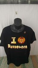 I Love Halloween t shirt Glows in the dark new without tags 3X/3XG (22-24)
