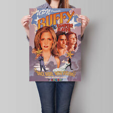 Buffy the Vampire Slayer Poster Sarah Michelle Gellar 16.6 x 23.4 in (A2)