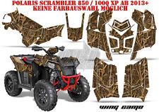 AMR Racing DECORO GRAPHIC KIT ATV POLARIS interferenzaNverso/Trailblazer Wing CAMO B
