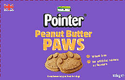 Pointer Wheat Free Peanut Butter Paws 10kg