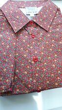 Size 18 Liberty print Tana Lawn Thomas & Jonathan s/s classic shirt blouse ID155