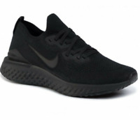 New Nike Epic React Flyknit 2 Multi Sizes Running Shoes Triple Black BQ8928-011