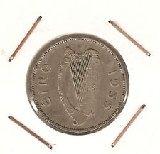 Ireland: Shilling 1955 VF+