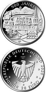 #RM# 20 Euro Commemorative Germany 2020 - Letter G - Freiburg