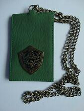 Nintendo The Legend Of Zelda Video Game Metal Badge ID Holder Chain Lanyard
