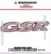 Genuine Mitsubishi GSR emblem MR245062 Oem Jdm